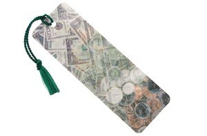 money hologram bookmark