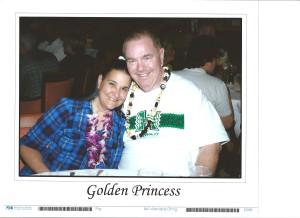 Jan 2013, Hawaii cruise- casual night for Robert & Lisa